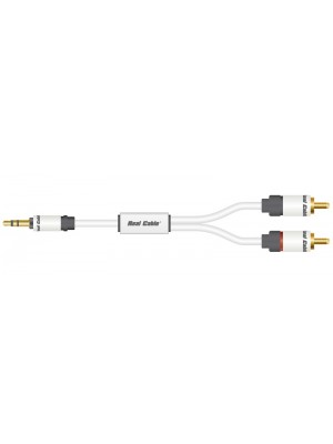 Real Cable JRCA-1  Jack σε 2 RCA - 1.5m