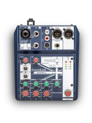 Soundcraft Notepad-5  - 1 mic 2 stereo