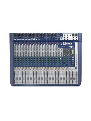 Soundcraft Signature 22 - 16 mic 4 stereo