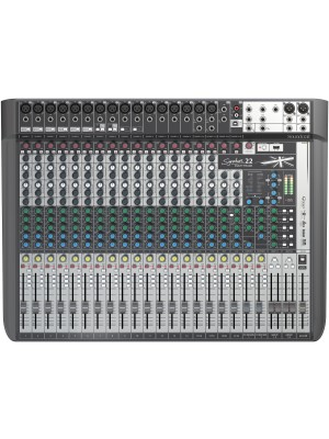 Soundcraft Signature 22MTK  - 16 mic 4 stereo