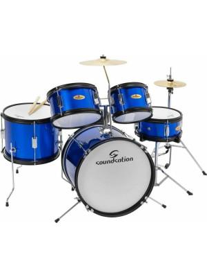 SoundSation JDK100 Metallic Blue Junior Σετ Drums