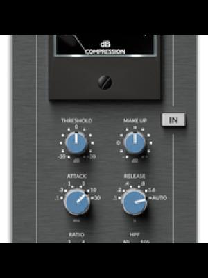 Solid State Logic G-COMP 500 E-Series Stereo Bus Compressor Module