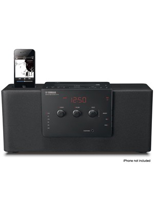 Yamaha TSX-140 Bl Ράδιο-CD &για iPod/iPhone Docking Station